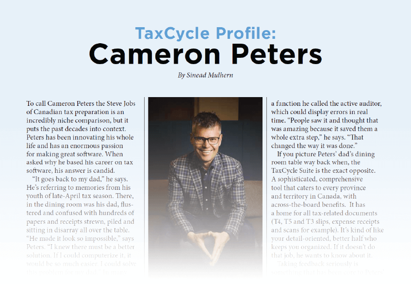 TaxCycle featured in CPA Pivot Magazine