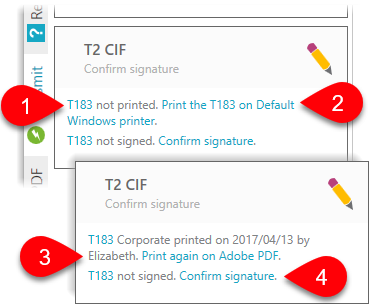 Confirm signature on T183